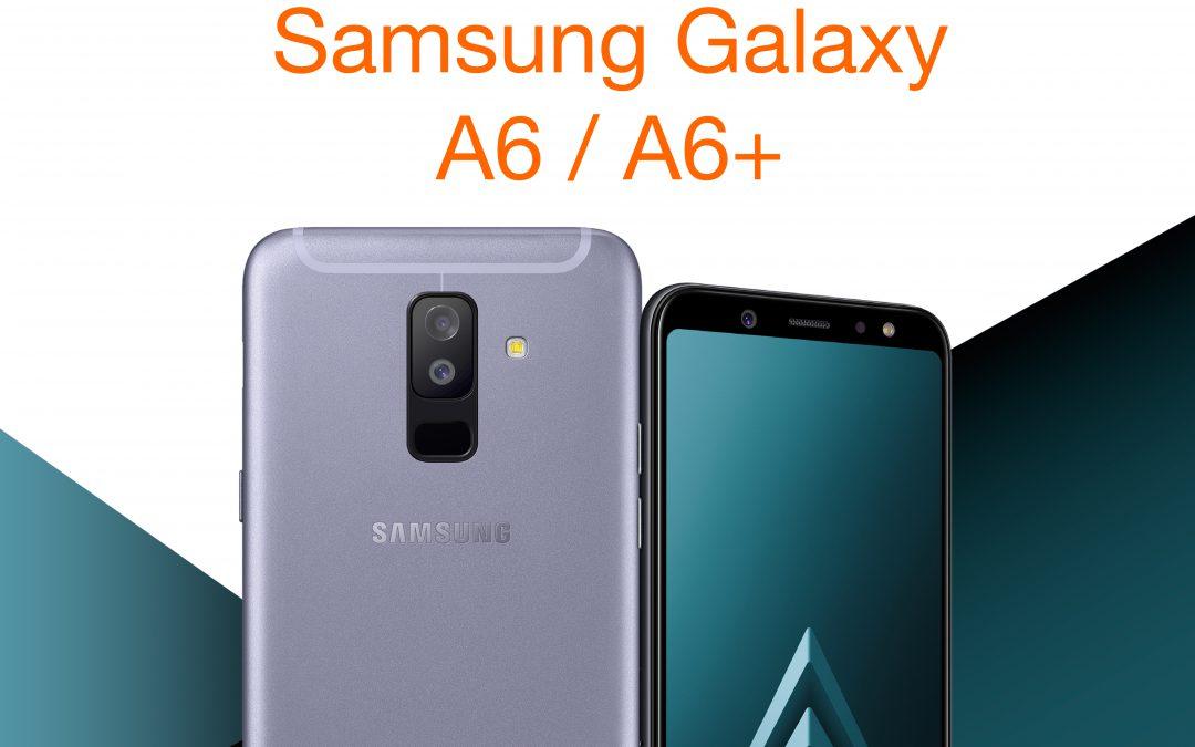 Samsung Galaxy A6|A6+, diversión sin límites