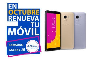 Super promoción Samsung Galaxy J6