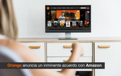 Orange anuncia un inminente acuerdo con Amazon