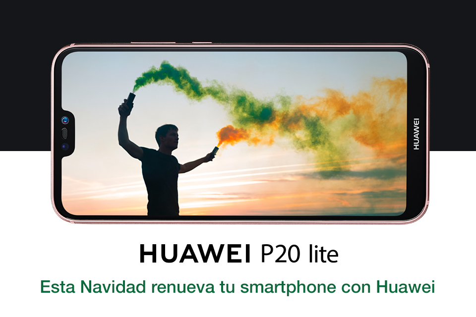 ¡Esta Navidad renueva tu viejo móvil con Huawei!
