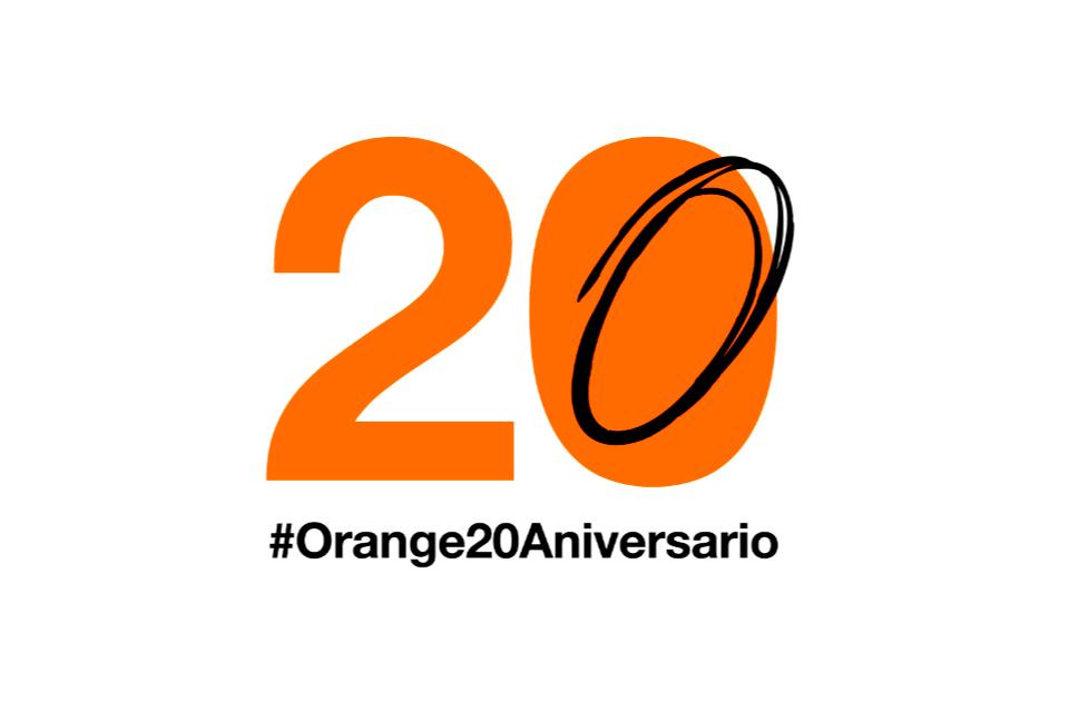 20º aniversario de Orange en España