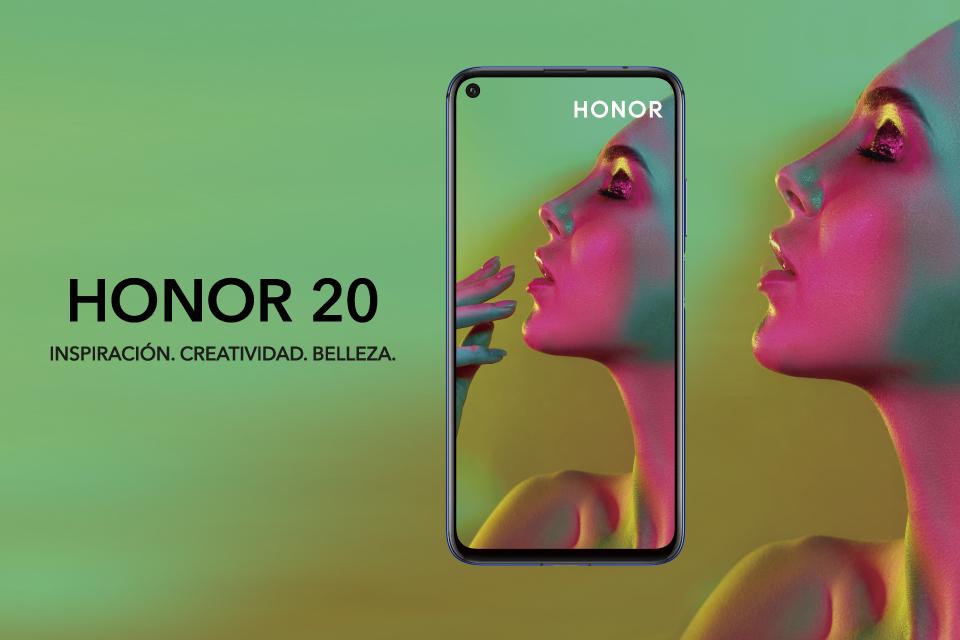 Descubre el nuevo Honor 20