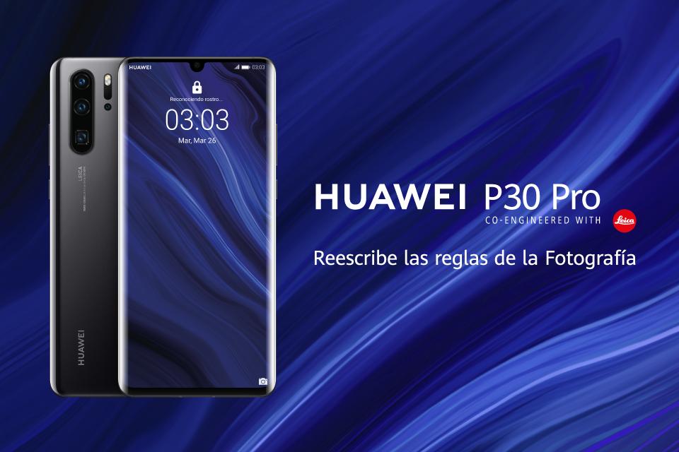 Fotografía a otro nivel con el Huawei P30 Pro
