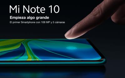 Xiaomi Mi Note 10: empieza algo grande