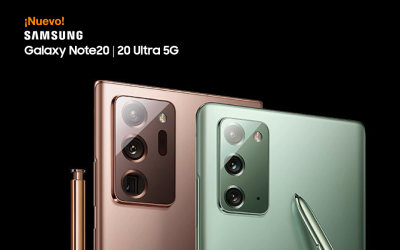 Nuevos Galaxy Note20 y Note20 Ultra 5G