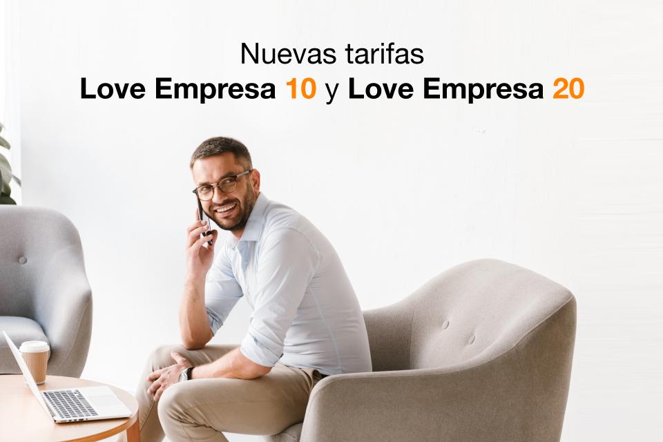 Descubre las nuevas tarifas Love Empresa 10 y 20