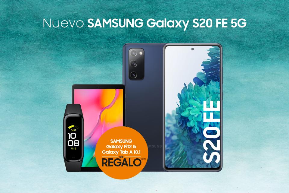 ¡Llega el Galaxy S20 FE 5G con una increíble promoción!