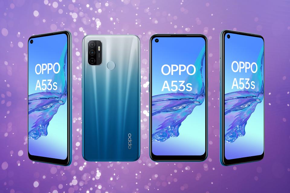 OPPO A53S: ligero, suave y veloz