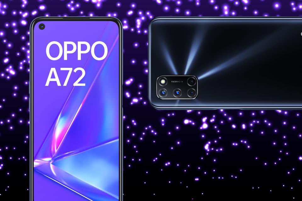 Empieza el 2021 con el Oppo A72