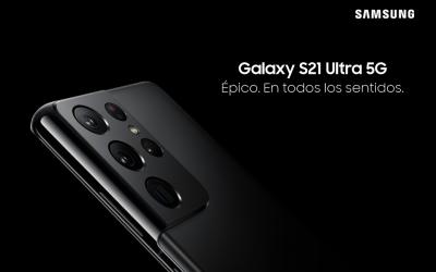 Samsung Galaxy S21 Ultra 5G, épico en todos los sentidos