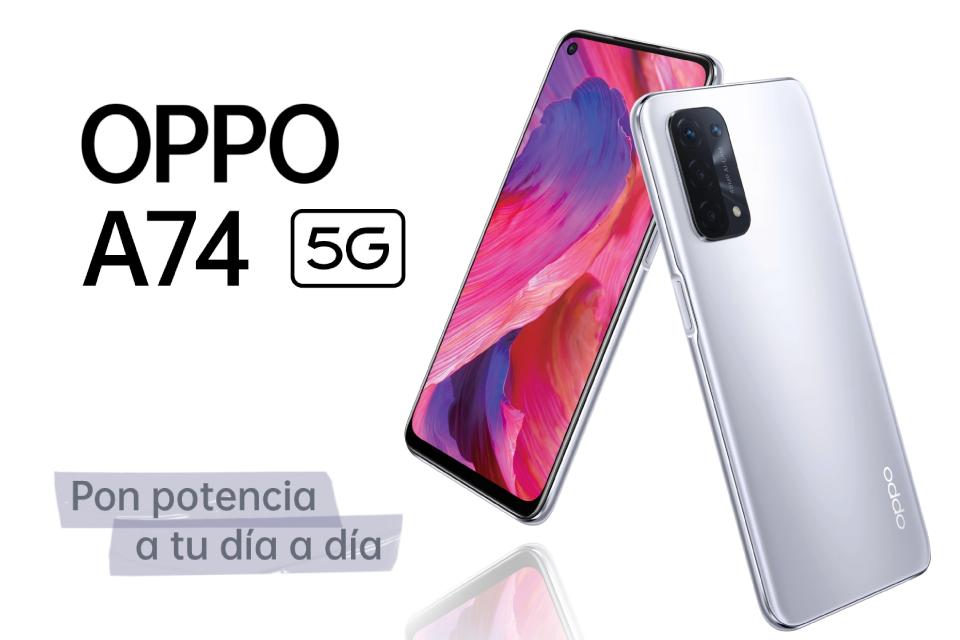 Oppo A74 5G, pon potencia a tu día a día