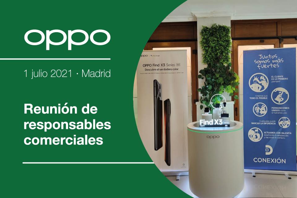 Reunión de responsables comerciales · OPPO