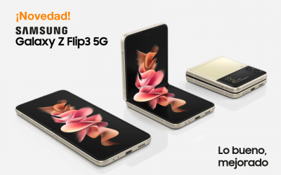 Descubre el nuevo Samsung Galaxy Z Flip3 5G